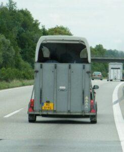 Kans op stress door transport