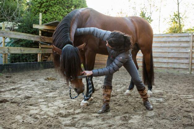 Chiropractie - mobilisatie van de hals naar links(2) - Anna Lagendaal