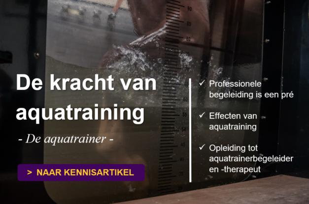 Meer info over de aquatrainer en de opleiding tot aquatrainerbegeleider