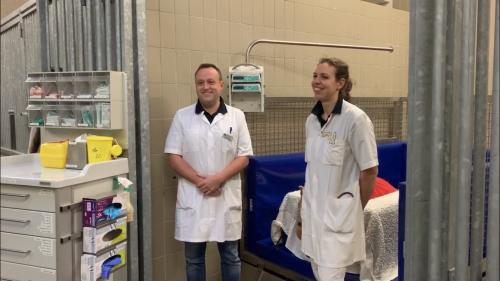 Drs. Mathijs Theelen en drs. Esther Siegers